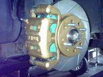 Mitsubishi Lancer Front Brake Upgrade